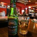 中国茶館 - 台湾ビール