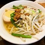 中国茶館 - 媽媽セットの担仔麺