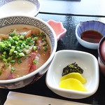 なゝ瀬 - 1703 なゝ瀬 りゅうきゅう丼@1,280円 みそ汁セット