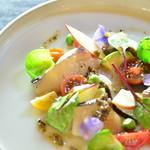 アナログ カフェ ラウンジ トーキョー - 旬の鮮魚のカルパッチョ