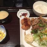 64023177 - 蔵尾ポーク生姜焼きランチ/840円