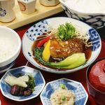 八かく庵 - 豆腐ハンバーグ膳