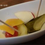 CAFE&WINE DINING RAINBOW - ピクルス