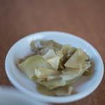 中華キッチン ぐら - 榨菜(さくさい)