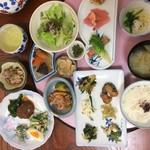 来留実 - のらぼう菜、紅菜苔、子持ち高菜など