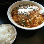 辛麺屋 桝元 - 辛麺、ライス