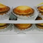 ベイク チーズ タルト - 6個ボックス