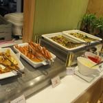 Cafe Restaurant Lavender - 朝から重いコーナー(笑)