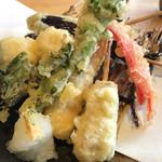 魚輝水産 - 天ぷら盛り合わせ