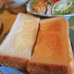 ミミ - トースト、おいしい。