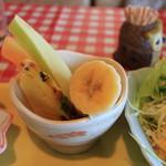 ミミ - フルーツ、3種。