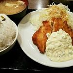 64032871 - チキン南蛮定食(ご飯大盛り無料)590円