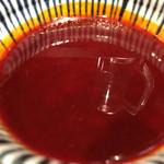 鯉のぼり - 冷たいつけ汁