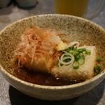 まり邑 - 揚げ出し豆腐