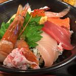海鮮亭 いっき - セットの海鮮丼