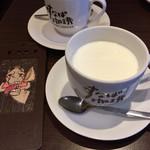 すなば珈琲 - ブレンドMとミルク