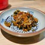 豚骨ラーメン銀水 - 高菜