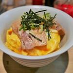豚骨ラーメン銀水 - 特製チャーシュー丼(並)500円