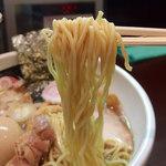おおぜき中華そば店 - 煮干そば(780円)