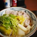 丸亀製麺 - 鴨ねぎうどん~☆