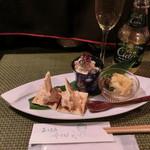 Kanda Coffee - おつまみ盛り合わせ三種1000円