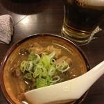 大東京酒場 - もつ煮込み