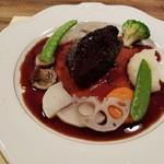 ビストロ オララ - 和牛ホホ肉の赤ワイン煮込み