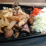 宮崎県日南市 塚田農場 - 地鶏の生姜焼き