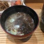 たか鮨 - みそ汁