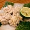食らんど もっちゃん - 料理写真:白子塩焼き   おすすめです  キチンとスダチの種を取って供されます。