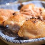 焼鳥スエヒロガリ - メインの雄雌食べ比べ