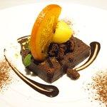 ゴーシェ - ランチコース 3240円 のチョコレートのテリーヌ