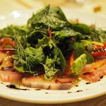 ワイン食堂UmiUsagi - 鮮魚のカルパッチョ