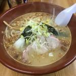 ラーメン網走大将 - 大将味噌ラーメン ¥750