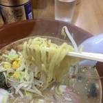 ラーメン網走大将 - 大将味噌ラーメンアップ