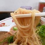 紀州和歌山らーめん あじゅち屋 - 中細ストレート麺