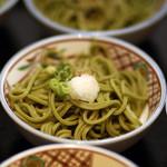 日本料理 桜ばし - 茶そば