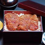 日本料理 桜ばし - 福井名物ソースカツ重