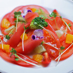 日本料理 桜ばし - フレッシュトマトのサラダ