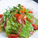 日本料理 桜ばし - 野菜たっぷりお刺身サラダ