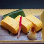 日本料理 桜ばし - 特製出し巻き玉子
