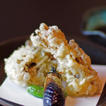 日本料理 桜ばし - 昇竜舞茸の天ぷら