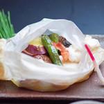日本料理 桜ばし - 魚介の包み焼き