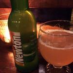ビストロギャロ - 青リンゴ果汁たっぷりのビール。アルコールが苦手な方でも飲みやすく好評です!