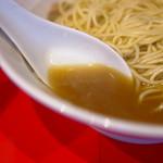 自家製麺 伊藤 - スープ