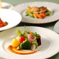 デュランデル - 野菜を中心としたコース