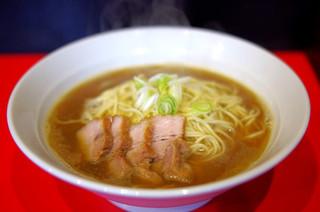 自家製麺 伊藤 浅草店 - 肉そば中(焼豚4枚)