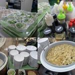 64053813 - 選べる小鉢/種類豊富なドレッシング/おかわりOKな御飯と味噌汁