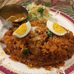インド・ネパール料理 ナラヤニ - ビリヤニセット٩( 'ω、' )و¥880円