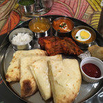 インド・ネパール料理 ナラヤニ - ホリデーランチ〜(´∀`=)/¥1300円